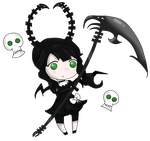 Dead Master Chibi by Naomz