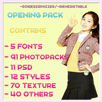 OPENING PACK { AVAILABLE ON WATTPAD ONLY } by irenesistable