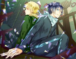 Noragami Yato and yukine by LOMOCHID