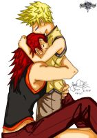 Axel x Roxas by SirJoshizzle by sailormulti01
