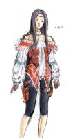 game character design by tianyi