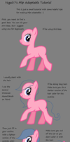 My Little Pony Adoptable Tutorial by vega37