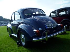 Blue Morris [rear view] by someoneabletofindana