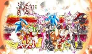 Sonic Halloween Costume Ball by shazam26