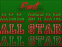 All Star-Font by OurLittleRubius