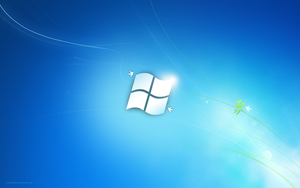 Windows 7 Flag by salmanarif