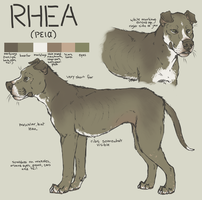 Lost Athens Ref: Rhea by HereLiesDeadSquirrel