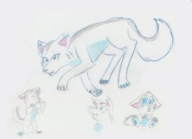 Frostbite the Wolf by BlackWolfXP