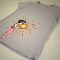 howl's moving castle t-shirt by mew-ninjin