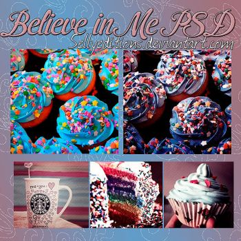Believe in me PSD by SellyEditions