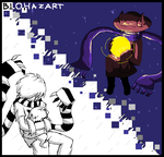 Doux-ONE (OFF fan game) and Niko OneShot by ToxNerium