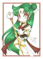 Miracle Sailor Pluto by PinkPigtails
