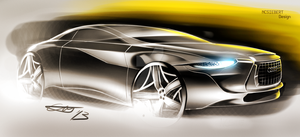 Audi coupe concept by trebeisChrisH