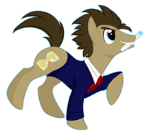 doctor whooves by ClaraWolfe