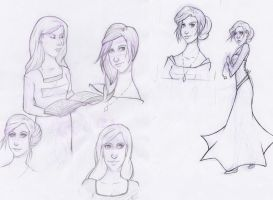 Sigyn Sketches by lillianclaire