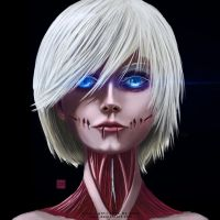 The Female Titan by qpio