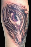Ojo M by maximolutztattoo