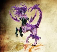 Fiend of Slaanesh redesign by Kharneth