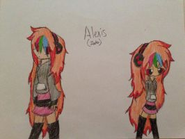 New OC- Alexis (Zako) by bickergirl90