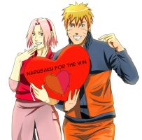 NaruSaku For The Win! by chiyuu-kun