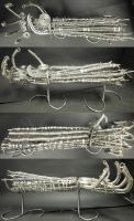 Biomechanical Wire Arm by NexReaper