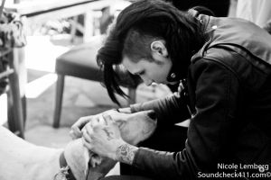 Andy Biersack by Soundcheck411