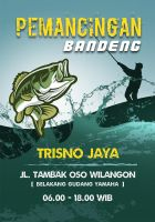 Pamphlet Design for Local Fishing Pool by hamdirizal