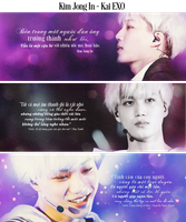 [Photo Quote] Kim Jong In - Kai EXO by jemmy2000