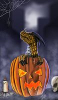 Dragon Halloween by jim-alex