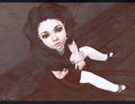 [TS2] Puppetry of the Raven Dark Face Infant by Sakuravitaminka