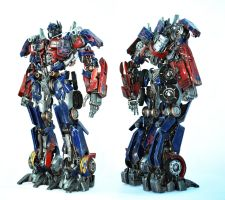 Transformers DMK01 Optimus Prime custom fig FINAL by SolidAlexei
