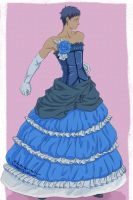 Aomine Daiki In A Dress by Hidanxx