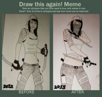 BABY ACE THEN AND NOW by GRAFFITIISMYWEAPON