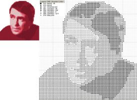 Star Trek Scotty Cross Stitch by black-lupin