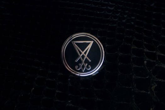 The Sigil of Lucifer pin by torvenius