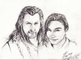 [Request] Fili and Theo by noei1984