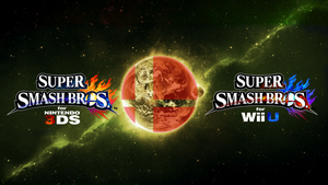 Super Smash Bros. Wii U/3DS Logo Wallpaper #73 by TheWolfBunny