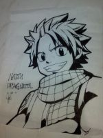 Natsu Dragneel Drawing by Erza-1703