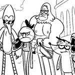 Left 4 regular show by Epic-Chase