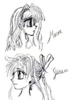 Maron Jeanne Sketches by takutofangirl101