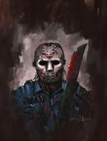 Jason Friday the 13th by adamgeyer