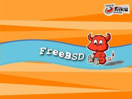 freebsd wallpaper 2 by rikulu