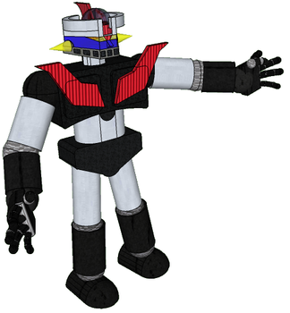 Mazinger Z 3D by spidermoises