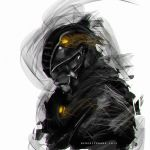 30mins Speedpaint Power Ranger Black by benedickbana