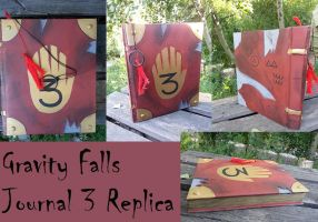 Gravity Falls Journal 3 Replica - For Cosplay by EyonSplicer