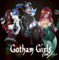 Gotham Girls by Elias-Chatzoudis