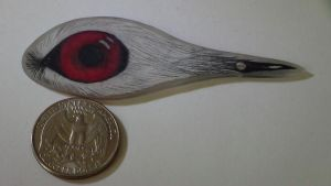 Feather Eye Ink Pen by Icegoddesswolf16