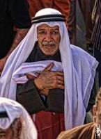 bahraini old man by hussainy