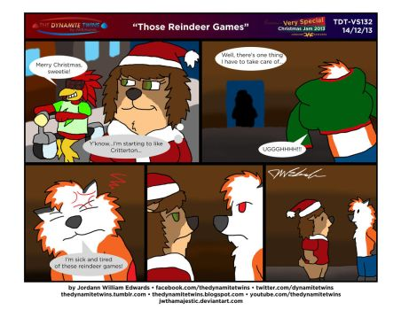 TDT - Those Reindeer Games by JWthaMajestic