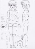 BJD pattern by wabi-sabi-ways